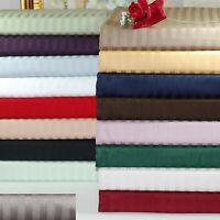 Gracy Bedding Duvet Collection 1000TC Egyptian Cotton AU Double Striped Colors