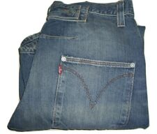 LEVI'S ENGINEERED TWISTED Blue Cinchback Denim Jeans W32 L34 Loose Fit