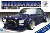 Aoshima 11492 Liberty Walk No.04 LB Works Skyline Hakosuka 2Dr 1/24 Scale Kit