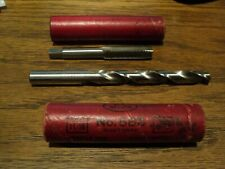Drill & Tap Set 7/16- 20 Union Tap Nf Gh3 G 548 & 25/64 Bit Hs Ptd Usa