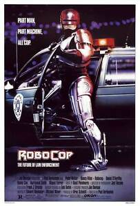 """ROBOCOP Movie Poster [Licensed-NEW-USA] 27x40"""" Theater Size (1987) [Weller]"""