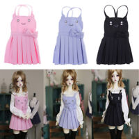 1/3 BJD 3 Colors Dress Clothes for Dollfie MSD  DOD DZ AD Doll Kid Role Play