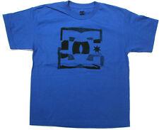 DC Boys T Shirt DC Skate 100% Cotton Blue DC Shoes Brand  DC