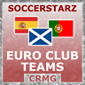 CRMG SoccerStarz EUROPEAN CLUB PORTUGAL SPAIN SCOTLAND (like MicroStars)