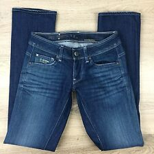 G-Star Raw New Reese Straight Women's Jeans Size 25 RRP $329 (QQ14)
