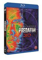 Predator 3D Blu Ray + Blu Ray (Nordic) Region B