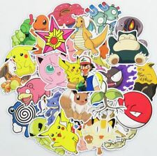 Pokemon 100 Stickers Skateboard Laptop Car Phone Tablet Decals Stickerbomb