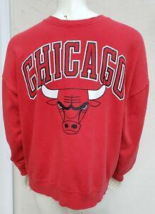HTF Chicago Bulls Crewneck Sweatshirt XL NBA Jordan