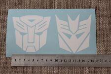 9 cm Adhesivos Calcomanías de Vinilo Autobot Decepticon & Pegatinas Coche Ipad Transformador