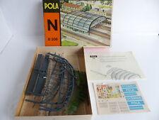 POLA N - B 206;. MAQUETTE A CONSTRUIRE PLATE-FORME DE STATION ET AUVENT / N ECH