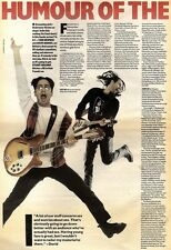 21/11/92PGN16 ROB NEWMAN & DAVID BADDIEL ARTICLE & PICTURES