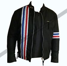 Easy Rider Striped Black Jacket, jackets-leather, All Sizes, Cordura, Motorcycle