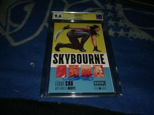 SKYBOURNE 1 CGC 9.6 SS. SIGNED BY FRANK CHO