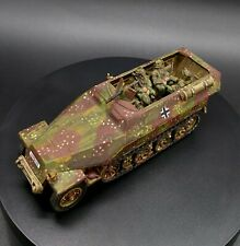 Well Painted 28mm Bolt Action German sdkfz 251 halftrack w/ ss passengers/crew
