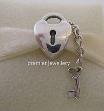 Authentic Genuine Pandora Silver Key to My Heart Charm 790971