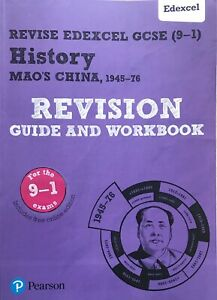 Revise Edexcel GCSE (9-1) History Mao's China Revision Guide and Workbook (ce)