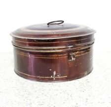 ANTIQUE SPICE TIN SET WITH GRATER AND CASE