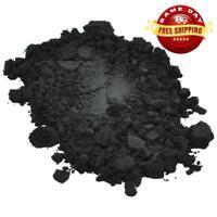 BLACK IRON OXIDE PIGMENT POWDER COSMETIC GRADE by H&B Oils Center for DIY 1 OZ