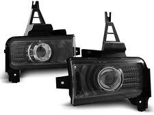 2X ANTIBROUILLARDS TOYOTA LAND CRUISER FJ200 07- BLACK SMOKE LED