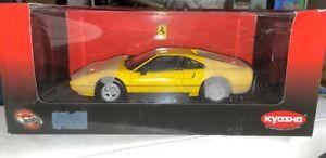 SELTEN.. KYOSHO Ferrari 308GTB 1976 Yellow Gelb 1:18 Modellauto OVP hotwheels