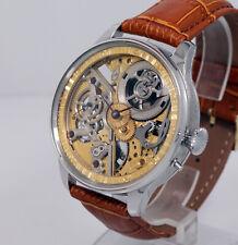 1905 Vacheron Constantin 17 jewels wristwatch marriage man Skeleton Guilloche