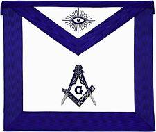 MASONIC COLLAR Blue Lodge APRON HAND EMBROIDERED PMA-500 01