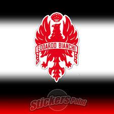 Adesivo BIANCHI colore ROSSO logo sticker pegatina bicicletta bike aquila eagle