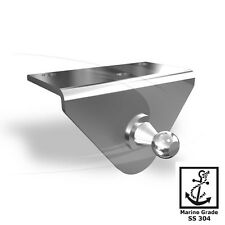 L Type Right Angle Mount Bracket Stainless Steel for Gas Strut Shock Spring Boat