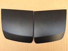 Porsche 944 NA 944S Pop Up Head light Lids in Black Plastic Dip headlight covers