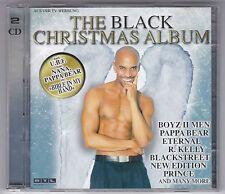THE BLACK CHRISTMAS ALBUM 2 CD'S WEIHNACHTEN /PRINCE/STEVIE WONDER/DIANA ROSS...