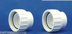 "2"" Spa Pump PVC Unions 400-5570 Waterway CMP 21023-000-000"