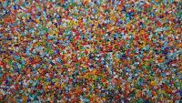 3000 Transparent Glass Seed Beads Size 11/0 2mm 50g For Jewellery BUY 4 FOR 3