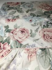 Vintage Country Rose Pair of King Pillowcase with Ruffle Trim/Shabby Chic
