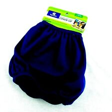 Top Paw Dog Washable Male Wrap Cover Up Diaper Belly Band Large Navy Blue