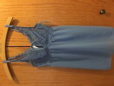 Women's Blue Baby Doll Sleepwear with Underwear Size S NEW