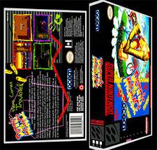Dennis the Menace - SNES Reproduction Art Case/Box No Game.