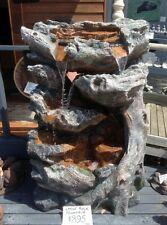Fountain Large Rock Cascading Outdoor Water Feature
