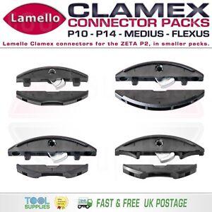 Lamello CLAMEX Connectors for ZETA P2, Smaller Packs, P 14, P 10, Medius, Flexus