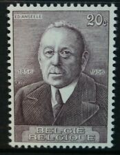 BELGIUM 1956 Birth Centenary of Anseele. Set of 1. Mint Never Hinged. SG1588.