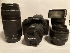 Canon EOS Rebel T6i 24.2 MP DSLR Camera Bundle