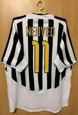 8b17f419e JUVENTUS ITALY 2003 2004 HOME FOOTBALL SHIRT JERSEY MAGLIA PAVEL NEDVED  11