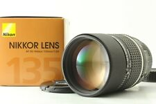 【 EXCELLENT+++++ BOXED 】 Nikon AF DC-Nikkor 135mm f/2 D Portrait Lens from JAPAN