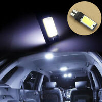 1Pc T10 W5W 194 168 White LED 6W COB Canbus Side Lamp Wedge Light Bulb 12V