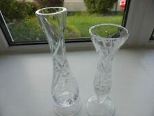 Britain Crystal & Cut Glass Vase Vintage Original