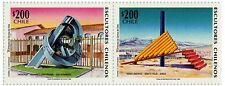 Chile 1996 #1820-1821 Escultores Chilenos MNH
