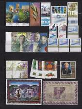 Israel 1998 MNH Tabs & Sheets Complete Year Set