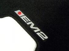 Vms 01-05 Honda Civic Em2 Coupe 2Dr Ex Lx Black Floor Mats Interior Carpets Set
