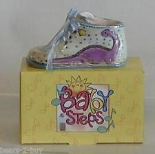 BRAND NEW Baby Steps Shoe In Blue Ideal Gift For New Born It's A Boy Keepsake