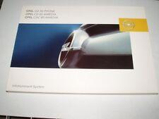 Bedienungsanleitung Opel Infotainment System CD50, CD60, CDC80, 04/04 (neu)