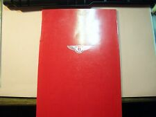 Original auto folleto sales brochure Rolls Royce/Bentley mulsanne Turbo